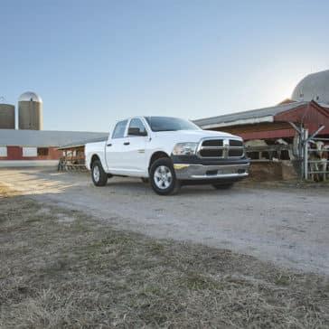 Ram 1500 on a Farm