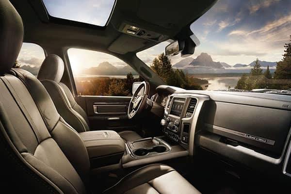 2018 Ram 1500 CA Interior