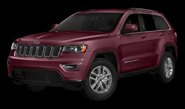 Burgandy Jeep Grand Cherokee