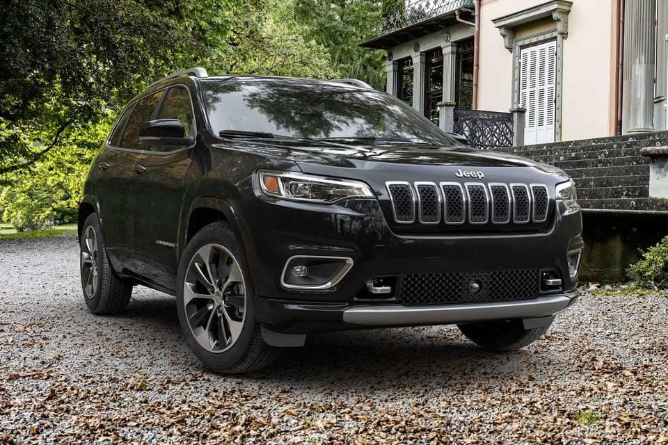 2019 Jeep Cherokee Grill