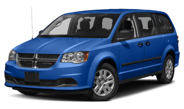 Blue 2019 Dodge Grand Caravan thumbnail