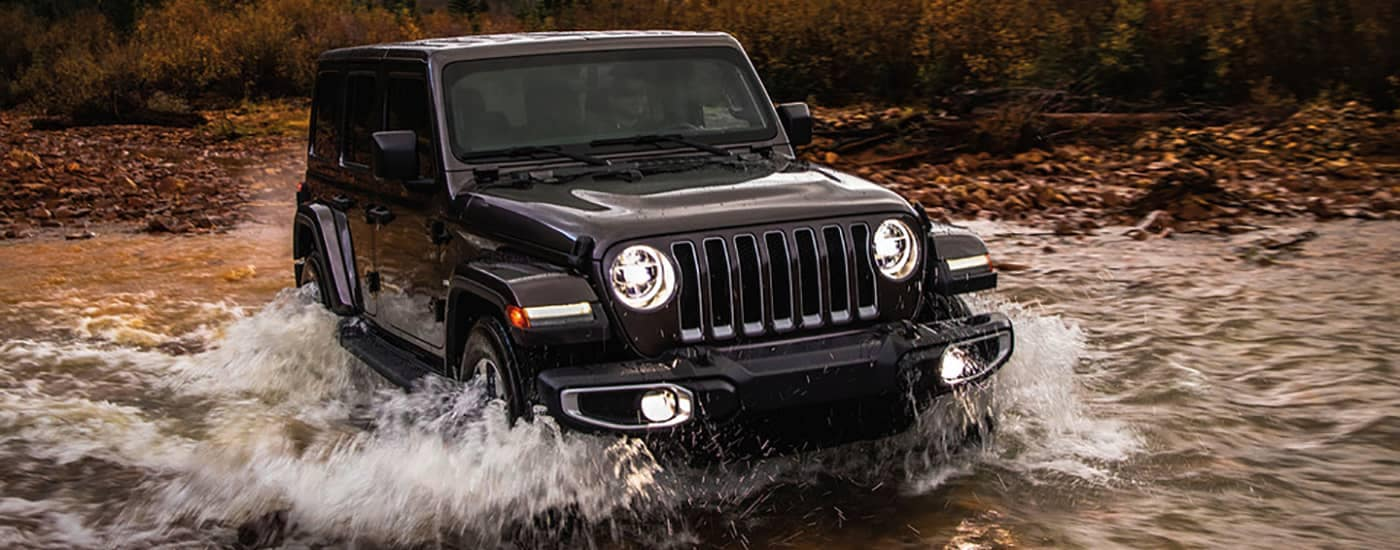 2019 Jeep Wrangler Crossing River