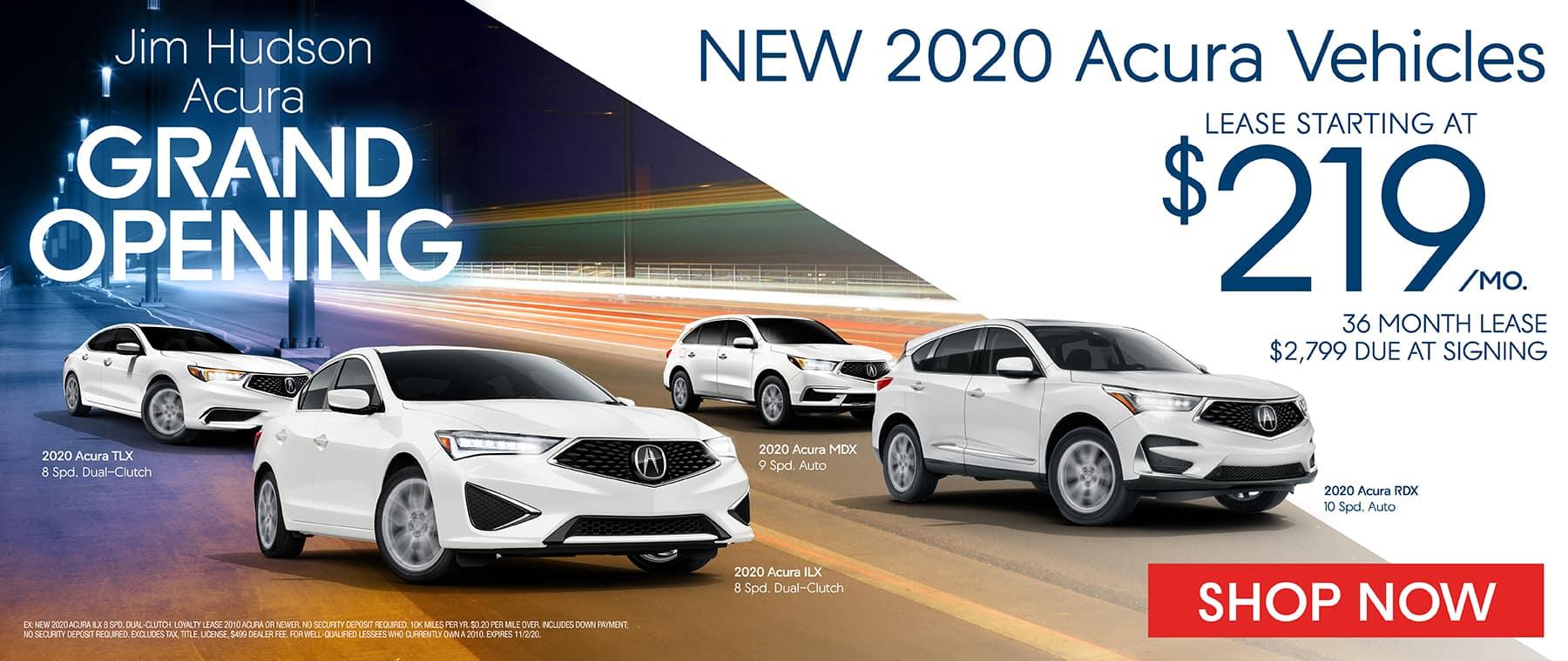 New 2020 Acuras
