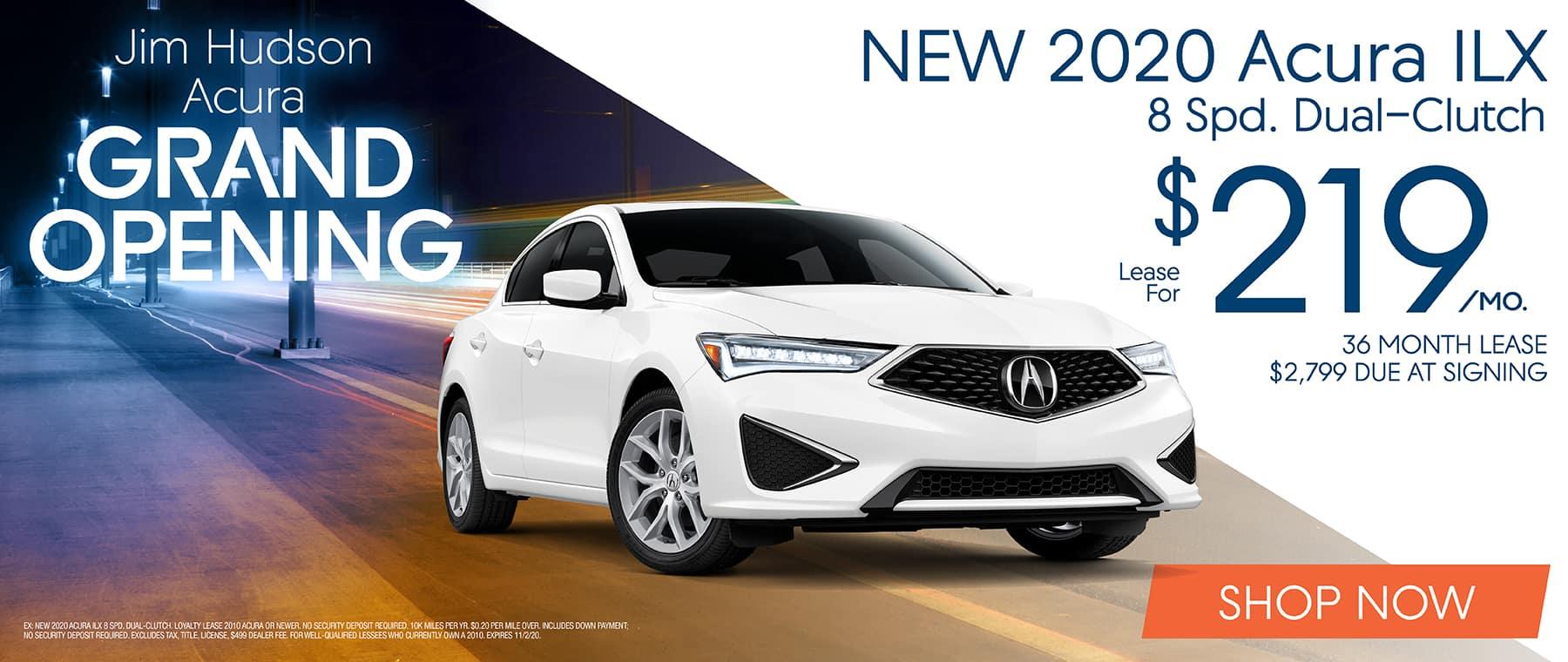 New 2020 Acura ILX!
