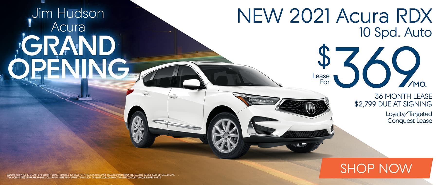 New 2021 Acura RDX