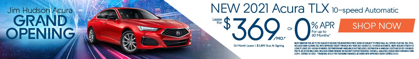 New 2021 Acura TLX!