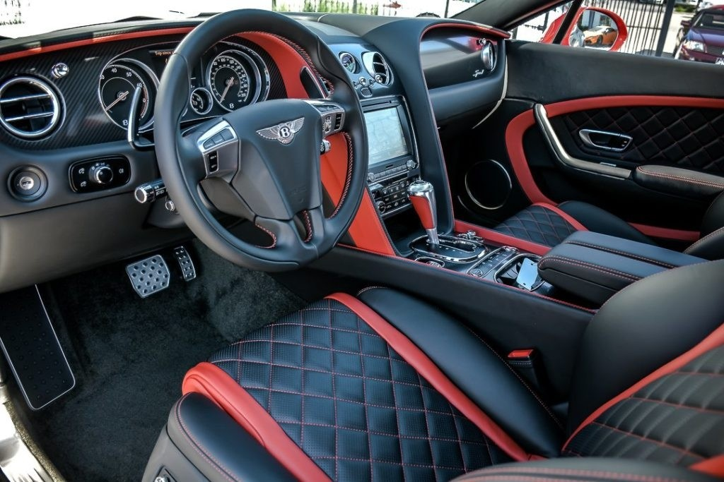 2017 Bentley Continental GT Speed Interior