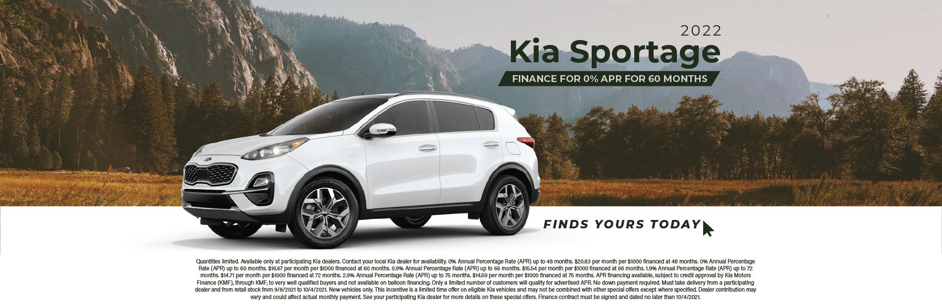 Sportage – Kia September 2021