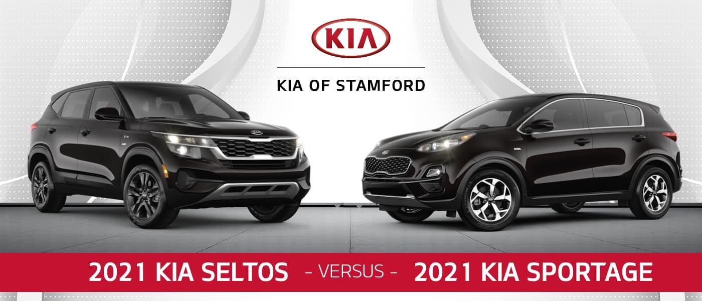 2021 Kia Sportage vs. 2021 Kia Seltos