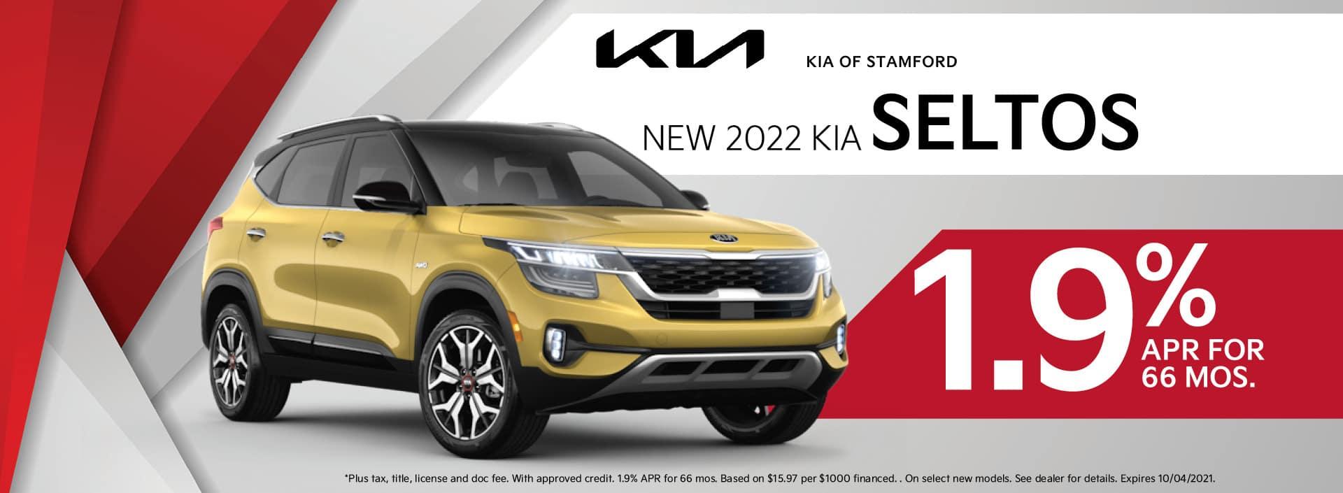 2022 Kia Seltos Finance Offer   Kia of Stamford