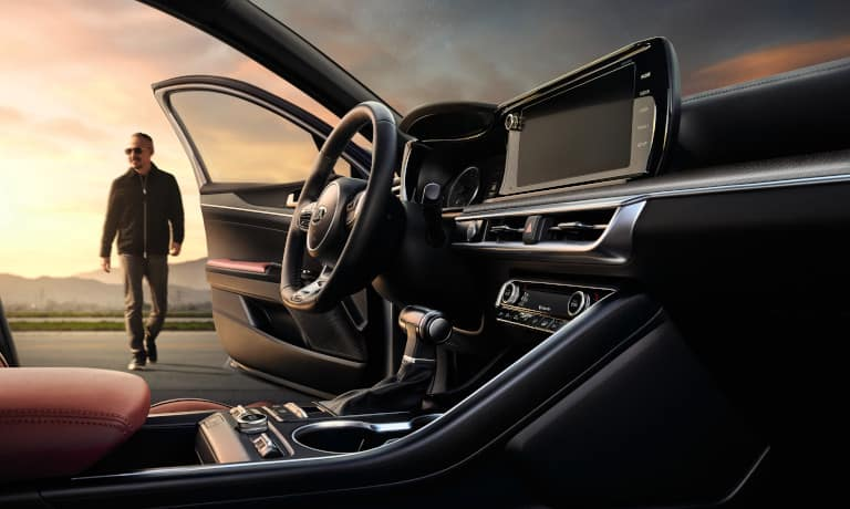 picture of 2021 Kia K5 interior design - infotainment and technology - Stamford CT