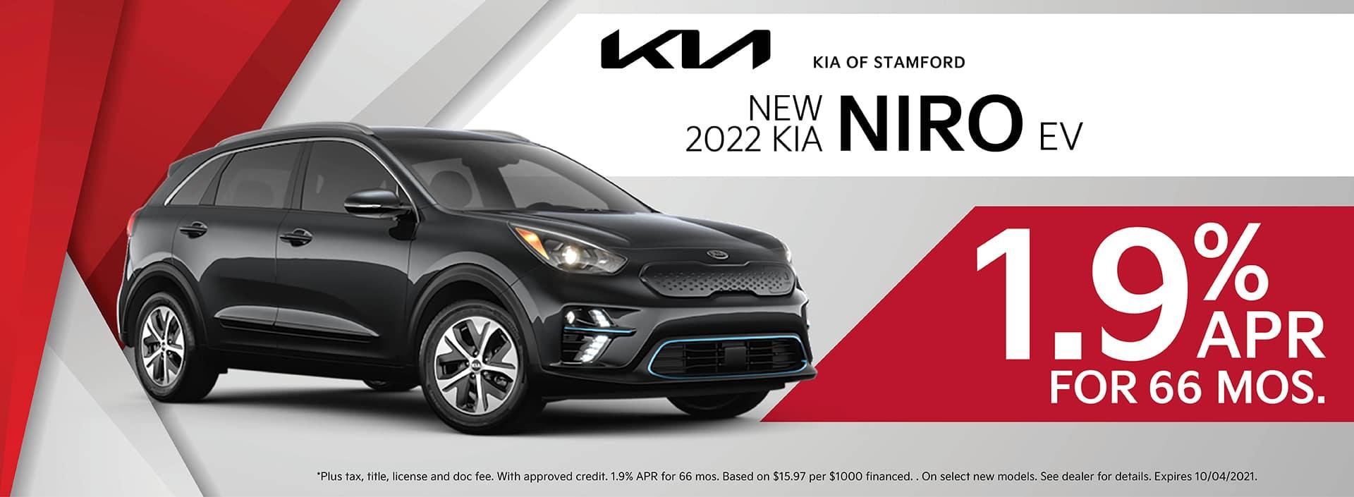 2022 Kia Niro Finance Offer   Kia of Stamford