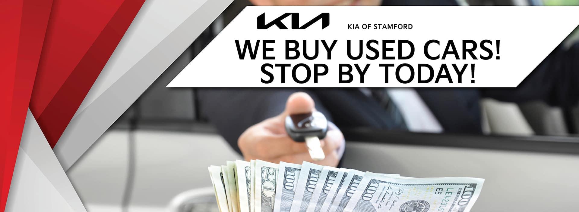 We Buy Used Cars   Kia of Stamford