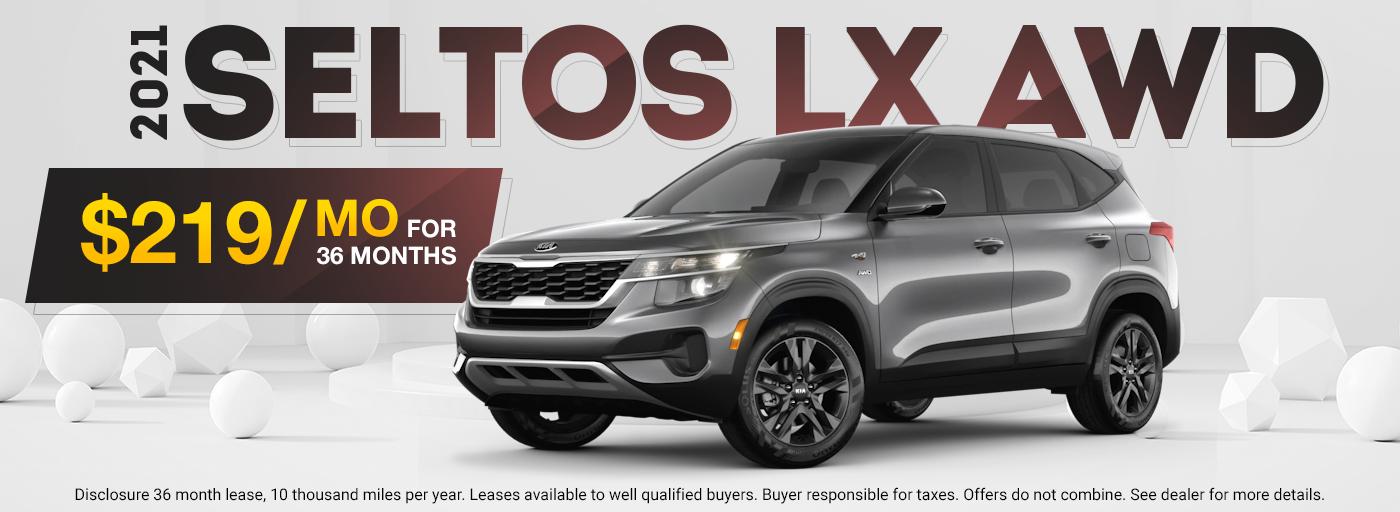 2021 Seltos LX AWD