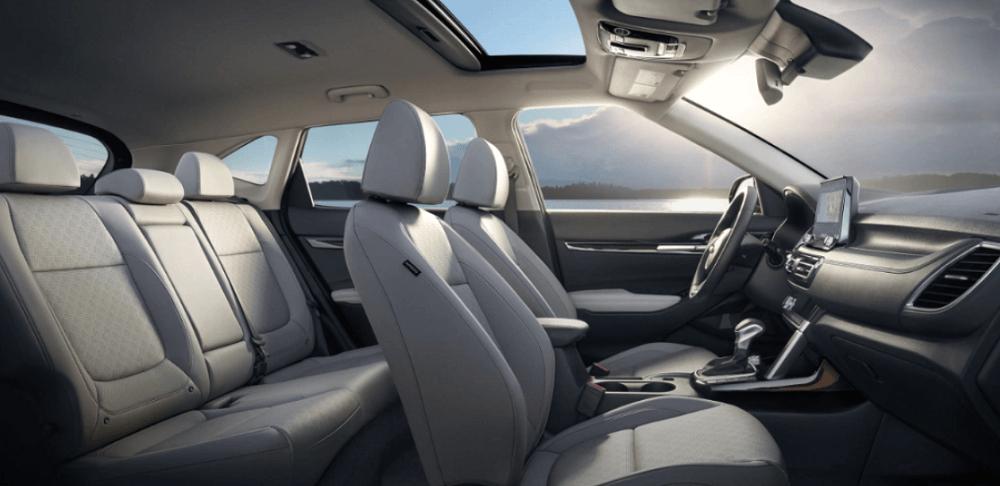 2021 Kia Seltos Interior Seating Cutaway Banner
