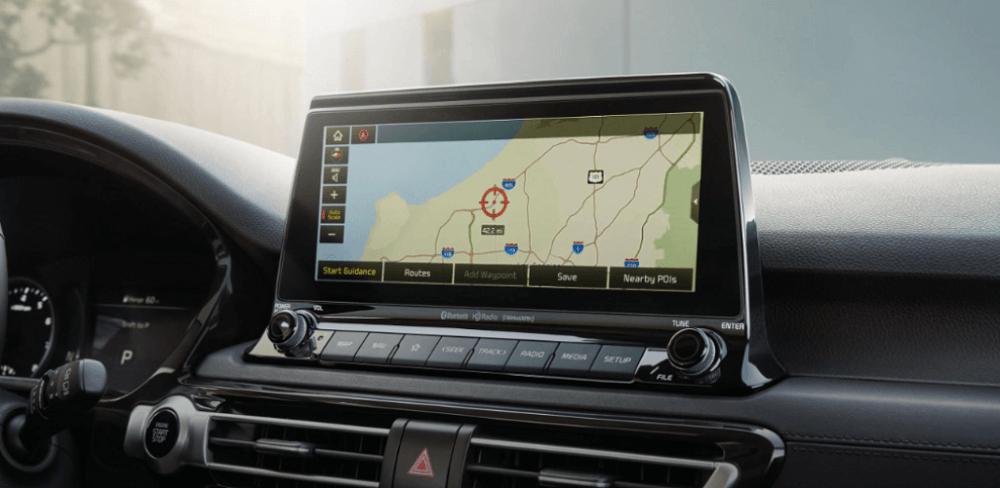 2021 Kia Seltos Interior Touch Screen Display