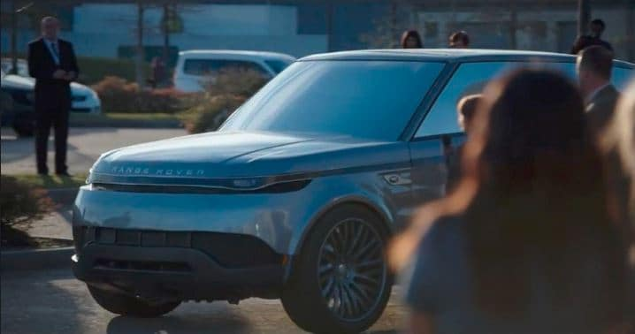 Range Rover the first concept