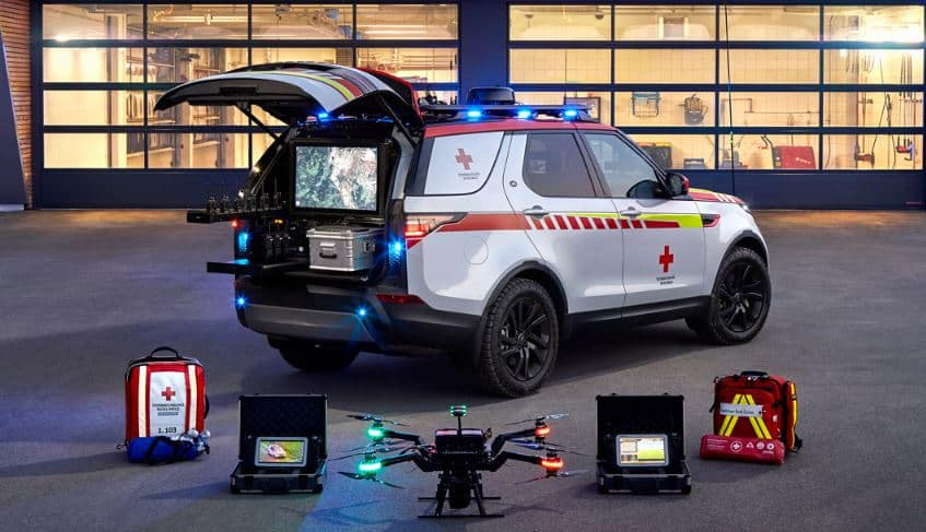 Red Cross Land Rover Discovery Tool Kit