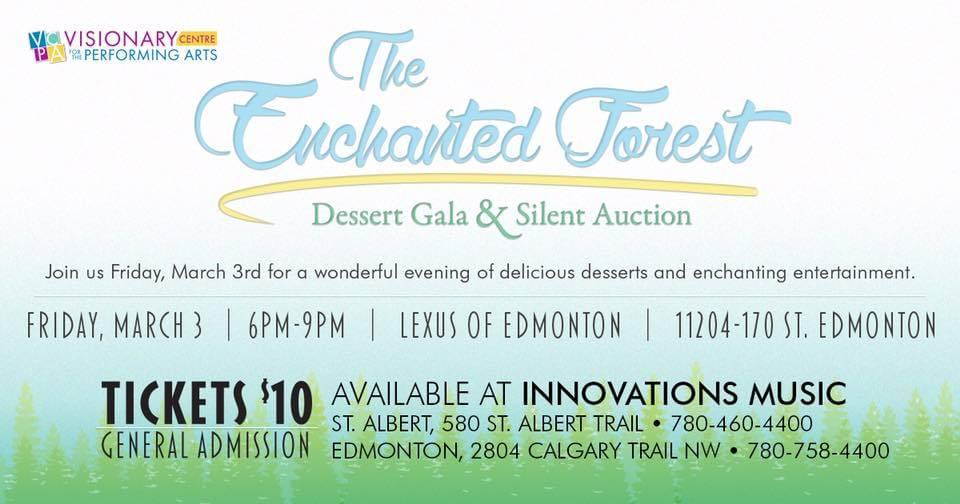 The Enchanted Forest: Dessert Gala & Silent Auction