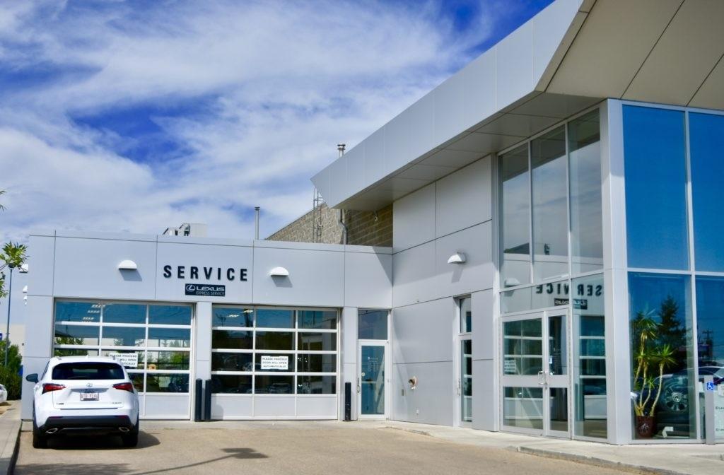 Lexus of Edmonton Service