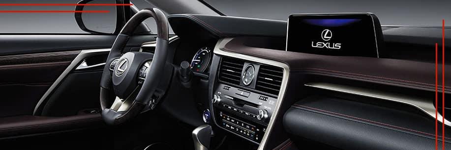 RX 350 Interior