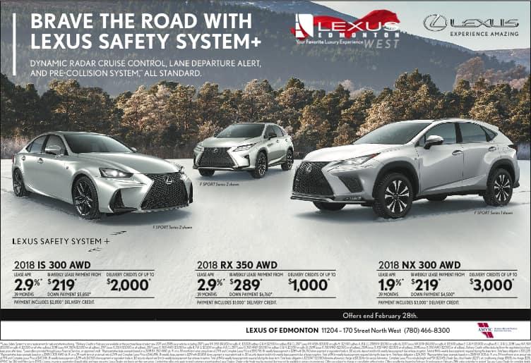 Lexus February Promotion