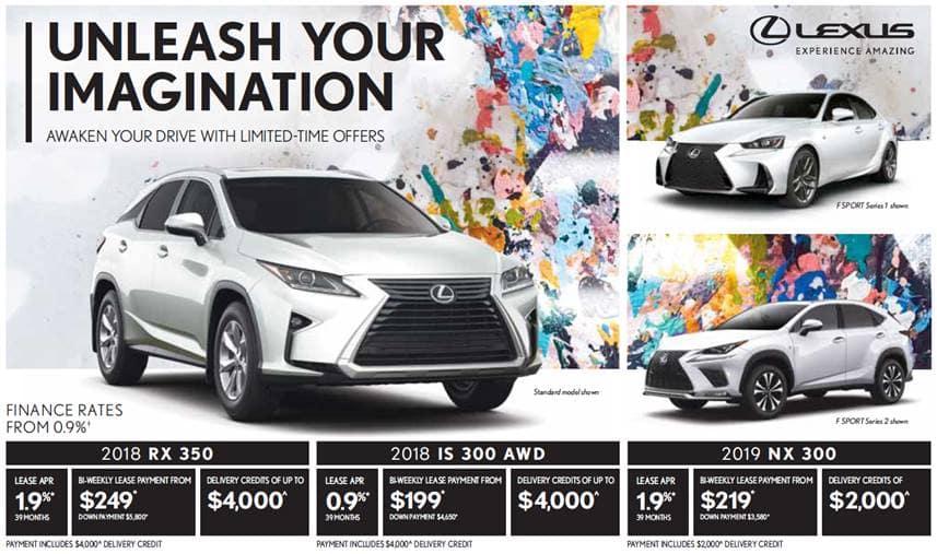 August Lexus Promotion