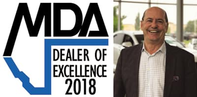 2018 Alberta Dealer Excellence Award