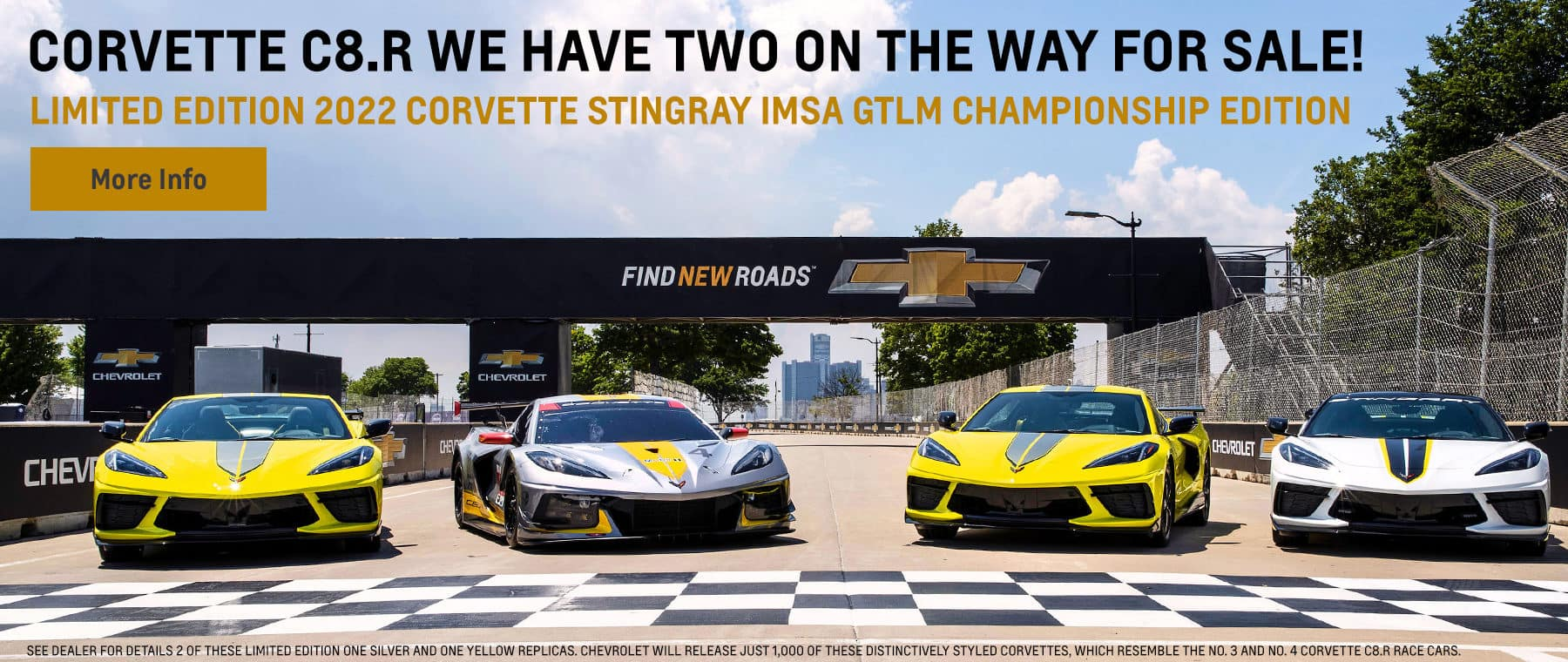 Corvette C8.R. We Have Two on the Way for Sale! Limited Edition 2022 Corvette Stingray IMSA GTLM Championship Edition