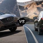 2016 Mazda CX-5 vs CX-9