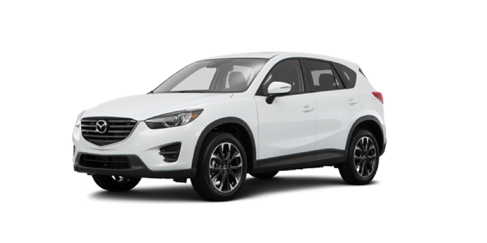 2016 5 Mazda CX 5 model on white