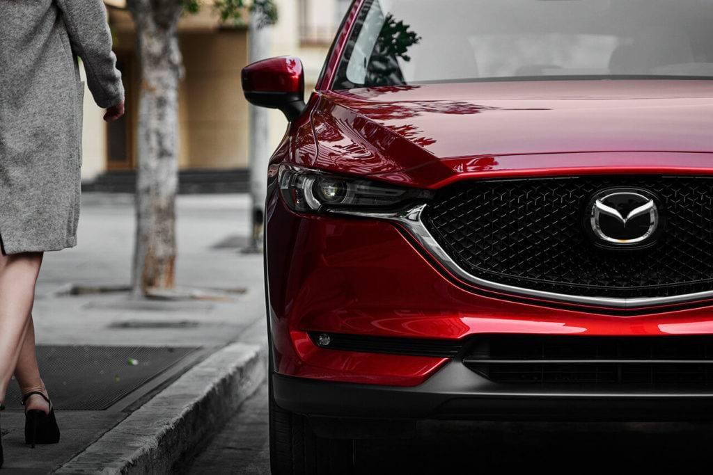 2017 Mazda CX-5 front fascia