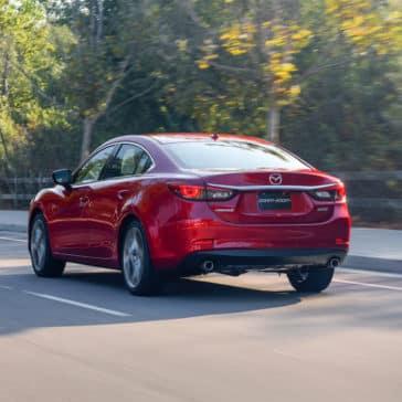 2017 Mazda6 rear exterior