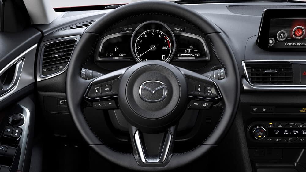 2018 Mazda3 Hatchback Interior Features