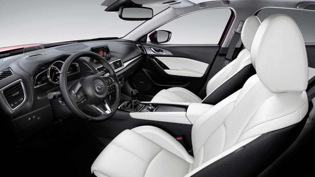 2018 Mazda3 Interior seats