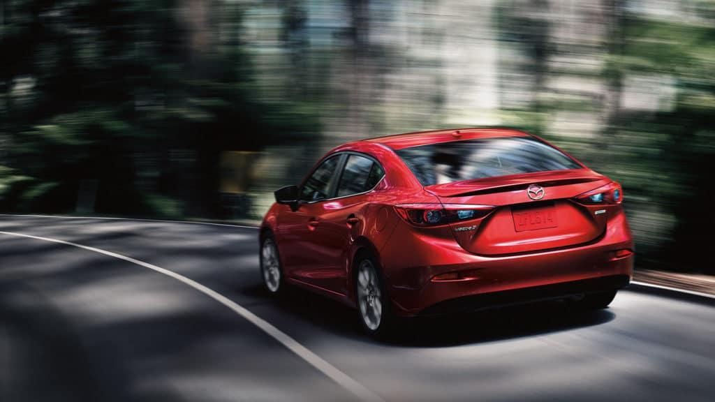 2018 Mazda3 driving