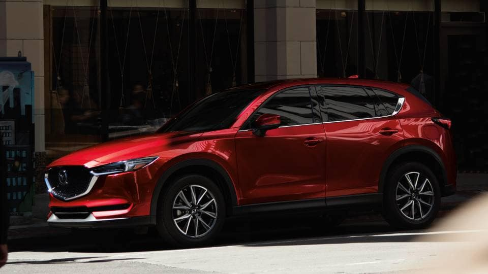 2018 Mazda CX-5 fuel efficient suv side profile