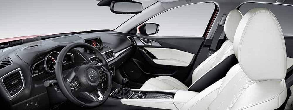 2018 Mazda3 Sedan Interior View banner