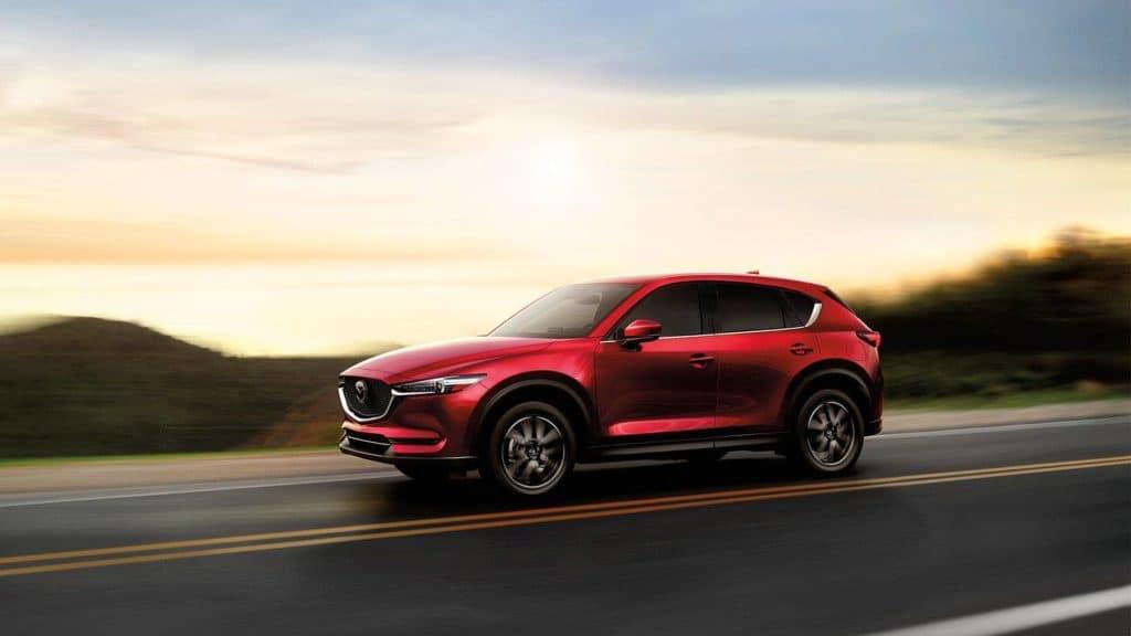 2018 Mazda CX-5 crossover driving