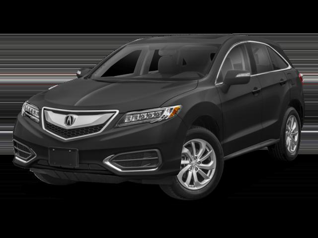 black 2018 Acura RDX FWD