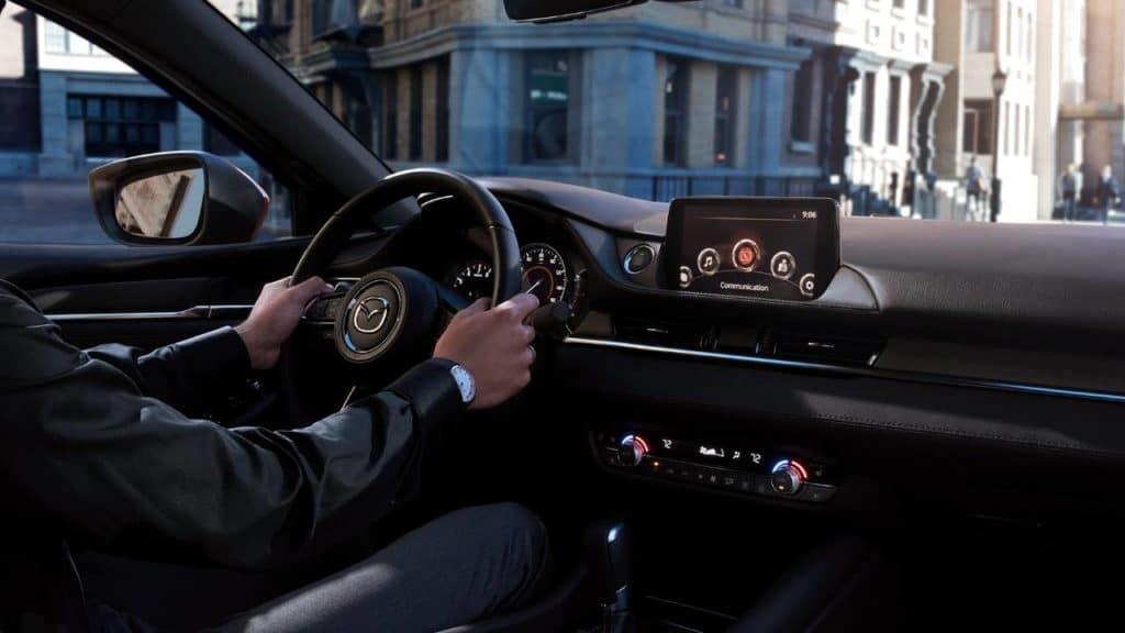 2018 Mazda6 interior driving