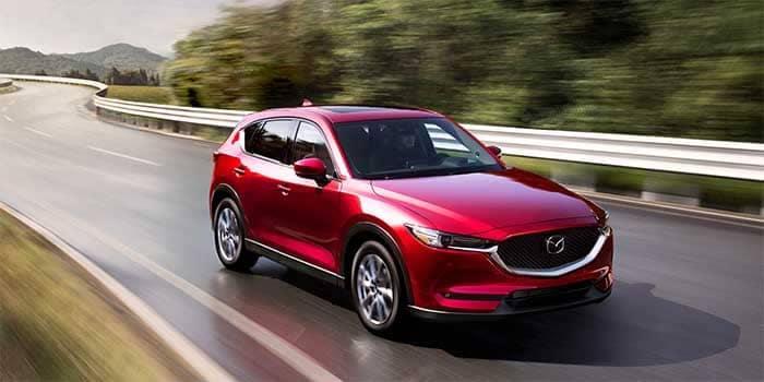 2019 Mazda CX-5 Driving