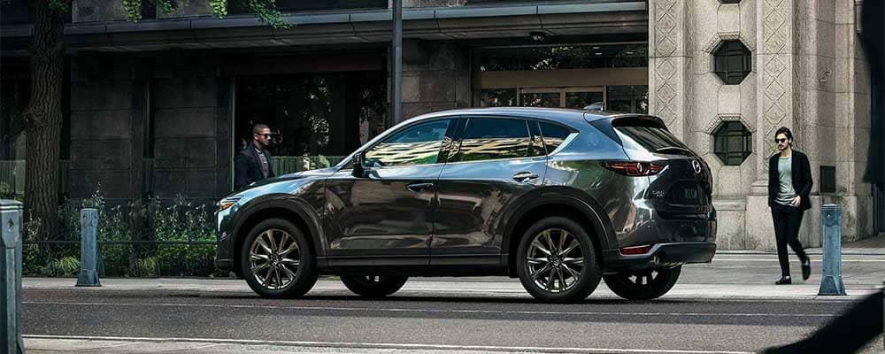 2019 Mazda CX-5 Parked on Side of Street