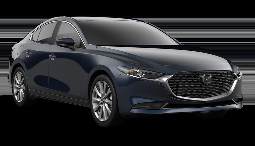 New 2019 Mazda3 Premium FWD 4D Sedan