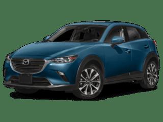 2019 Mazda CX-3 blue