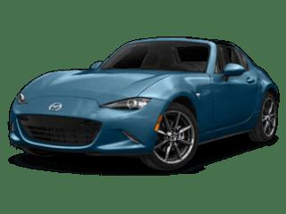 2019 Mazda MX-5 Miata RF blue