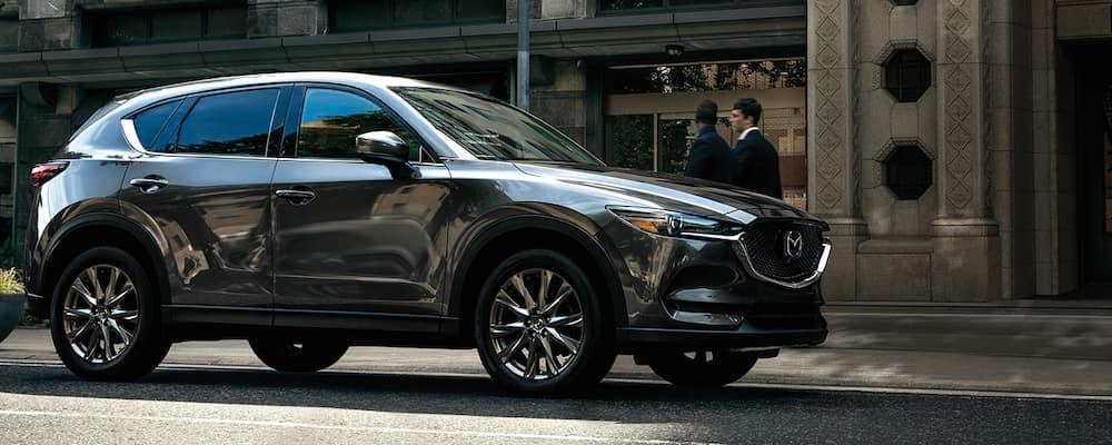 2020 Mazda CX-5 parked on a city street