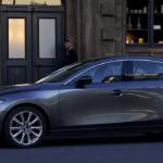 Parked 2020 Mazda3