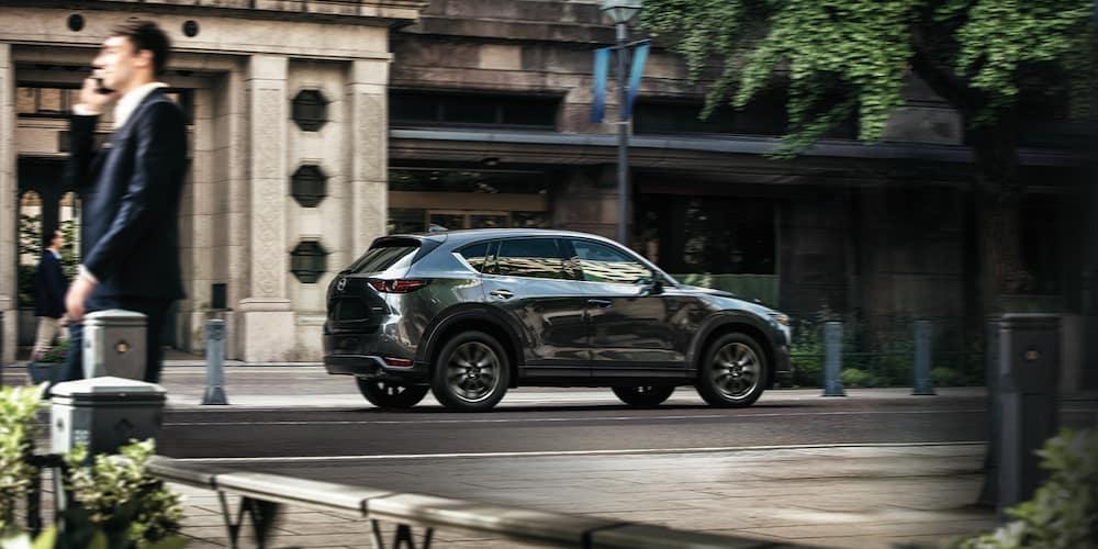 2020 Mazda CX-5 on the road