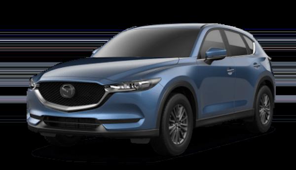 2020 Mazda CX-5 in Eternal Blue Mica